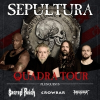 Art Of Shock Announces Rescheduled 2021 Dates For Sepultura North American Quadra Tou Photo