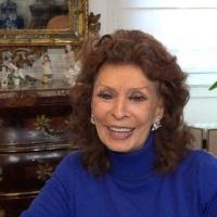 Sophia Loren Talks Aging, Acting, Beauty & More on CBS SUNDAY MORNING Photo