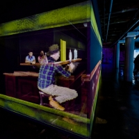 ARTECHOUSE Partners With Local Bars To Present An Augmented Reality Drink Experience Photo