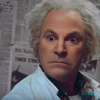 VIDEO: Christopher Lloyd Meets Roger Bart as Dr. Emmett L. Brown in New BACK TO THE F Photo
