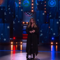VIDEO: Kelly Clarkson Covers 'America The Beautiful'