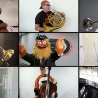 VIDEO: Philadelphia Orchestra Gets Conducted by Flyers Mascot Gritty For 'Feel the Sh Photo