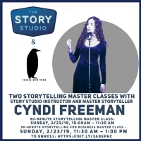 The Story Studio Presents Two Storytelling Master Classes At Frigid Festival Photo