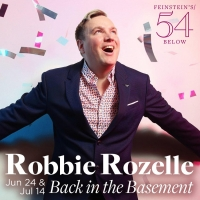 Robbie Rozelle in BACK IN THE BASEMENT to be Presented at Feinstein's/54 Below Photo