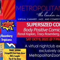 SUPERSIZED COMEDY: They're FLABulous! Will Be Performed On Metropolitan Zoom Photo