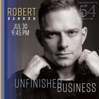 Entertainer Robert Bannon Returns To Feinstein's/54 Below Photo