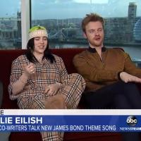 VIDEO: Billie Eilish Talks JAMES BOND on GOOD MORNING AMERICA Photo