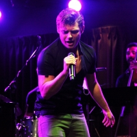 Photo Flash: Garrett Clayton Plays New York City In Guest Appearance At SWINGIN' WITH Photo