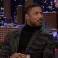 VIDEO: Michael B. Jordan Shares His Mom's Rum Cake Recipe on THE TONIGHT SHOW WITH JIMMY FALLON