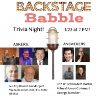 Lee Roy Reams, Peter Filichia and More Will Take Part in Backstage Babble Trivia Night! Photo