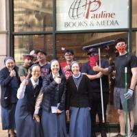 Nuns4Fun Entertainment Streams CHRISTMAS BINGO: SUMMER EDITION To Help Looted Nuns In Photo