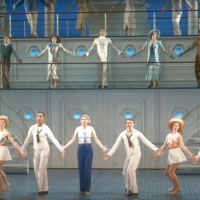 VIDEO: Watch Sutton Foster, Robert Lindsay, and the Cast of ANYTHING GOES in New Show Foot Photo