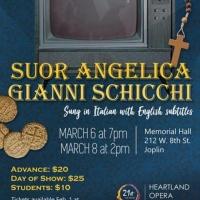 Heartland Opera Will Present Puccini's SUOR ANGELIA and GIANNI SCHICCHI