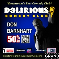 Delirious Comedy Club Offers 50% Discount To Military, First Responders and Tourists Photo