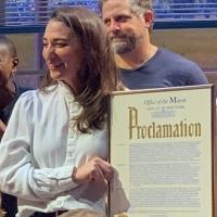 VIDEO: WAITRESS Company Celebrates 'Nick Cordero Day' Mayoral Proclamation