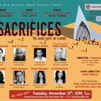 Benefit Reading Of The New Musical SACRIFICES to Feature Eddie Korbich, Shoba Narayan Photo