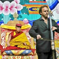 Cellist Michael Fitzpatrick Talks Dalai Lama Collaboration On Tom Needham's SOUNDS OF Photo