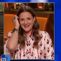 VIDEO: Drew Barrymore Talks About Her New Show on THE LATE SHOW WITH STEPHEN COLBERT Photo