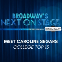 Meet the Next on Stage Top 15 Contestants - Caroline Segars