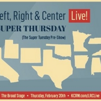 Tickets On Sale Now For KCRW's LEFT, RIGHT, & CENTER LIVE! At The Broad Stage