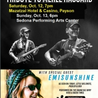 Haggard Brothers Perform In Payson And Sedona October 12-13; EmiSunshine To Open