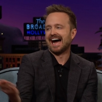 VIDEO: Aaron Paul Says He Needs Help With His Hands on THE LATE LATE SHOW