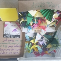 The Wilma Theater Seeking Paper Cranes For Special Installation At Sunday Breakf Photo