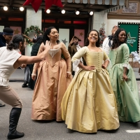 Video: HAMILTON Performs 'The Schuyler Sisters' at the Thanksgiving Day Parade Photo