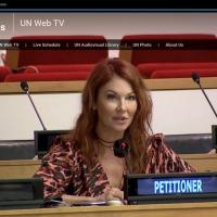Nobel Peace Prize-Nominated Cynthia Basinet Highlights Media Abuse To The United Nati Photo