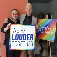 Marc Hall And Stafford Arima Talk THE LOUDER WE GET at Theatre Calgary