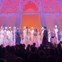 VIDEOS: ALADDIN Returns to Broadway; Watch the Cast Take Their Bows and Pre-Show Spee Photo