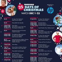 Freeform Announces the 25 DAYS OF CHRISTMAS Lineup