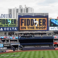 Photo Coverage: The Cast of FIDDLER ON THE ROOF IN YIDDISH Sings the National Anthem  Photo