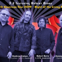 3.2 Featuring Robert Berry To Tour North America This Fall