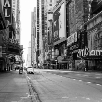 Photo Coverage: 19 Eerie Images of a Desolate Times Square Photos