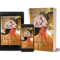 Sophie Barnes Releases New Regency Romance THE DISHONORED VISCOUNT