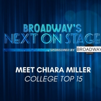 Meet the Next on Stage Top 15 Contestants - Chiara Miller Photo