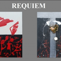 REQUIEM By Gerry Lynch Exhibit Opens In Betty Ray McCain Art Gallery At The Duke Ener Photo