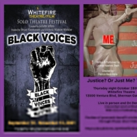 JUSTICE? OR…JUST ME? THE BITE to be Presented at Whitefire Theatre's Black Voices S Photo