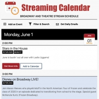 BroadwayWorld Launches Most Comprehensive Streaming Calendar! Photo