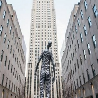 Tom Friedman's 10-Foot Tall Sculpture LOOKING UP to be Displayed at Rockefeller Cente Photo