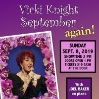 Vicki Knight Heads to Palm Desert for Cabaret Show Photo