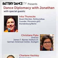 Battery Dance TV DANCE DIPLOMACY With Jonathan Announces Three-Part Series With A Foc Photo