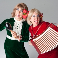 Musical Comedy Sister Duo Livestreams HOME FOR THE HOLIDAYS WITH VICKIE & NICKIE Photo