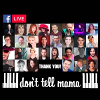 Don't Tell Mama Piano Bar Stars To Give Back In Live Virtual Cabaret Photo