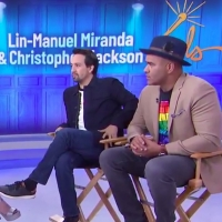 VIDEO: Lin-Manuel Miranda, Christopher Jackson Give Viewers a Taste of FREESTYLE LOVE SUPREME on TODAY