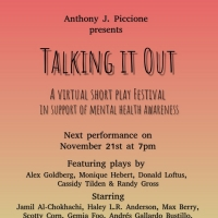 First Performance Of The TALKING IT OUT Virtual Play Festival's 2020-21 Season To Str Photo