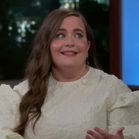 VIDEO: Aidy Bryant Talks SATURDAY NIGHT LIVE on JIMMY KIMMEL LIVE
