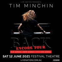 Tim Minchin Brings BACK to Adelaide Cabaret Festival Photo