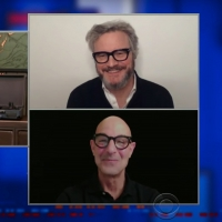 VIDEO: Colin Firth & Stanley Tucci On Co-Starring In SUPERNOVA on THE LATE SHOW WITH STEPH Photo